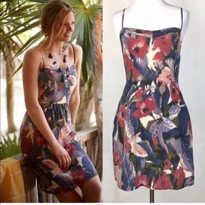 Moulinette Soeurs Silk Slip Dress with Pockets